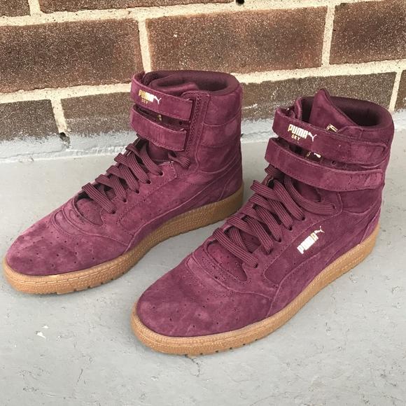 Puma Shoes | Contact High Tops Womens